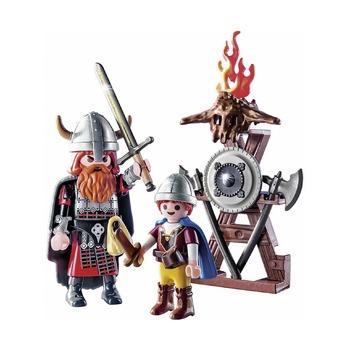 Викинги с щитами