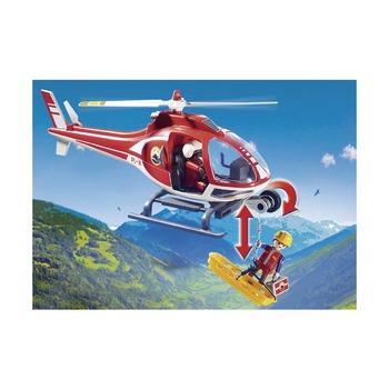 Вертолет горноспасателей