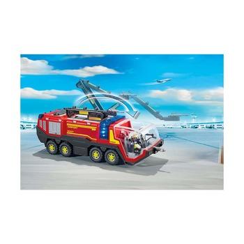 Пожарная машина в аэропорту со светом и звуком