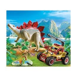 Исследовательский транспорт со стегозавром