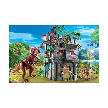 Затерянный храм с тираннозавром