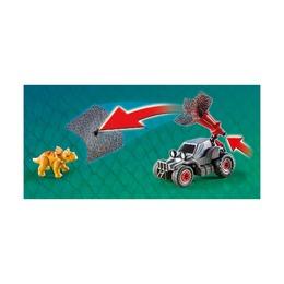 Вражеский квадроцикл с трицератопсом