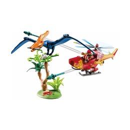 Вертолет и птеродактиль