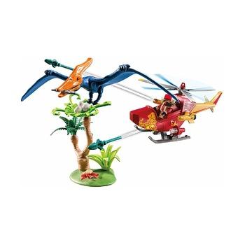 Вертолет для приключений с птеродактилем
