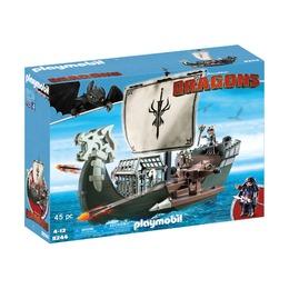 Драконий корабль викингов