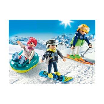 Трио в зимних видах спорта