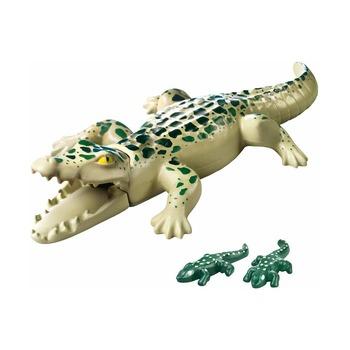 Аллигатор с детенышами