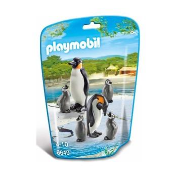 Семья пингвинов