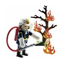 Пожарный с деревом