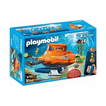 Подводная лодка с подводным двигателем