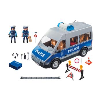 Полицейский с машиной