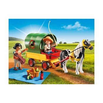 Пикник с коневозкой