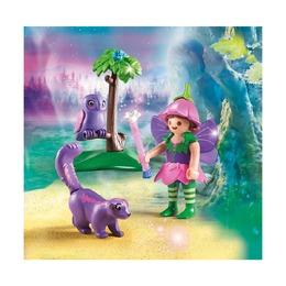 Девочка-фея с животными друзьями