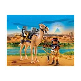 Египетский воин с верблюдом