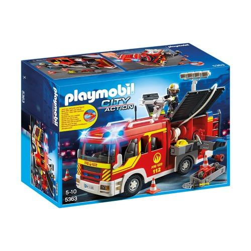 Пожарная машина со светом и звуком
