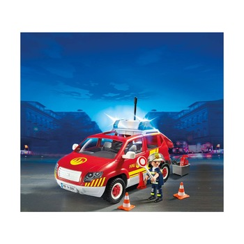 Пожарная машина командира со светом и звуком