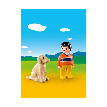 1.2.3. Мужчина с собакой