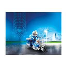 Полицейский мотоцикл со светодиодом