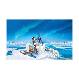 Исследователи Арктики с полярными медведями