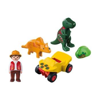 1.2.3. Исследователь с динозаврами