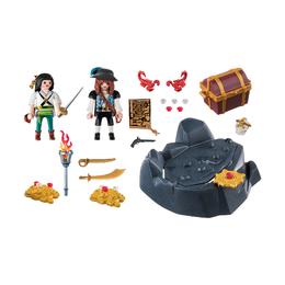 Пиратский тайник с сокровищами