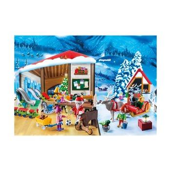 Адвент-календарь Мастерская Санта-Клауса