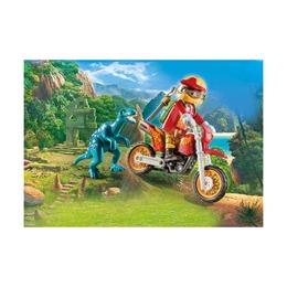 Гоночный мотоцикл с ящером