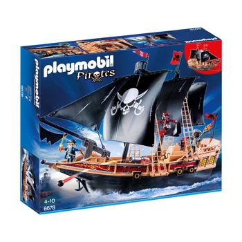Пиратский боевой корабль