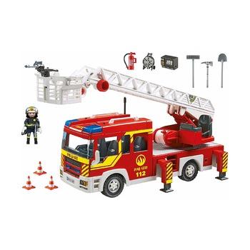 Пожарная машина с лестницей со светом и звуком