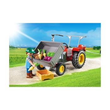 Уборочный трактор