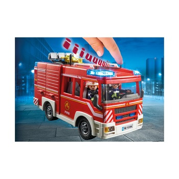 Пожарная машина, со светом и звуком