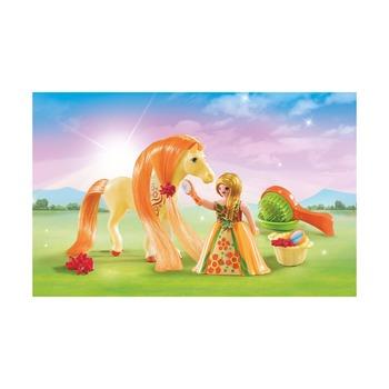 Сказочная лошадка и принцесса, возьми с собой