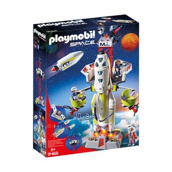 Ракета-носитель с космодромом