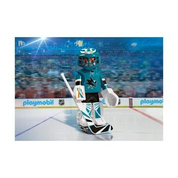 Вратарь НХЛ Сан-Хосе Sharks