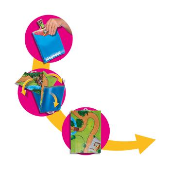 Игровая карта Прогулки пони