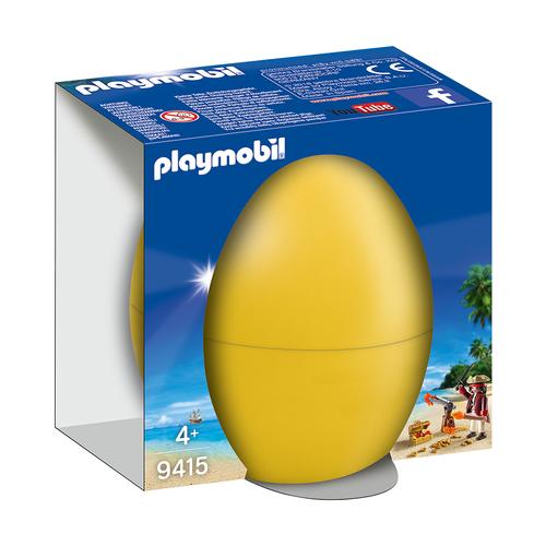 Пасхальное яйцо Пират с пушкой