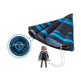 Рекс Дашер с парашютом