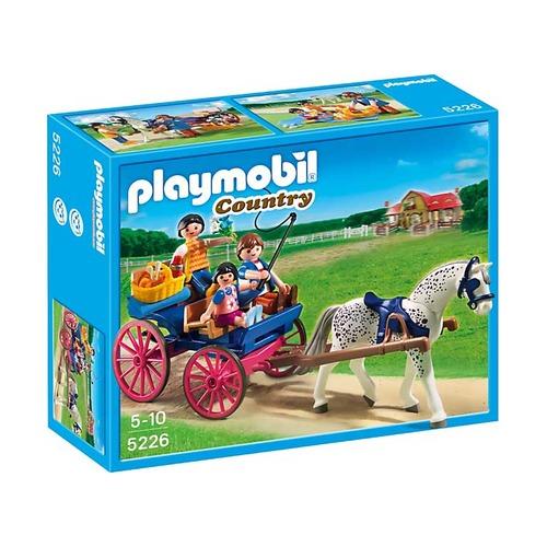 Повозка, запряженная лошадью