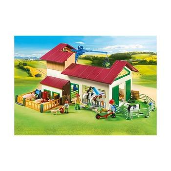 Большая ферма с животными