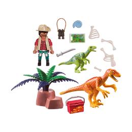Исследователь динозавров, возьми с собой