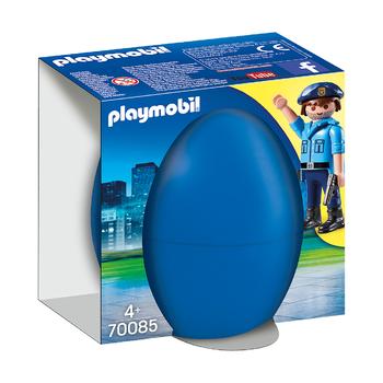 Пасхальное яйцо Офицер полиции с собакой