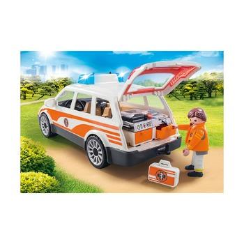 Аварийный автомобиль с сиреной