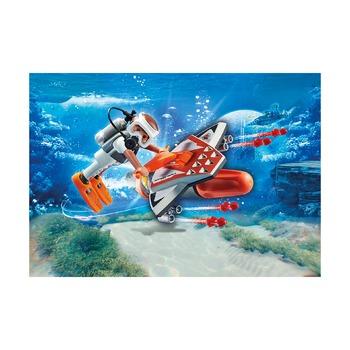 Подводное крыло шпионской команды