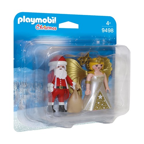 Санта и Рождественский Ангел