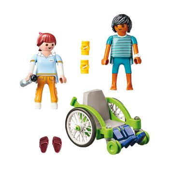 Пациент в инвалидном кресле