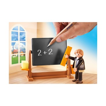Школьные уроки в Дерфли