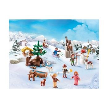 Рождественский календарь Хайди