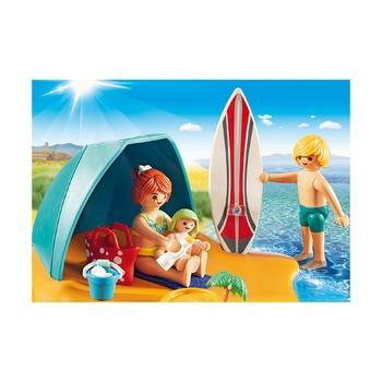 Семейный день на пляже