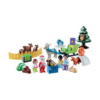 Адвент-календарь Рождество в лесу