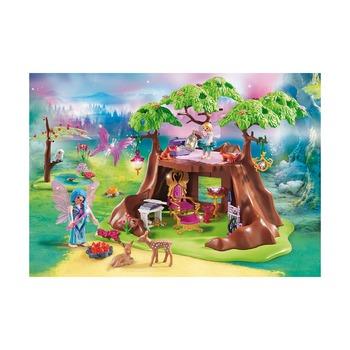 Сказочный лесной дом + лодка